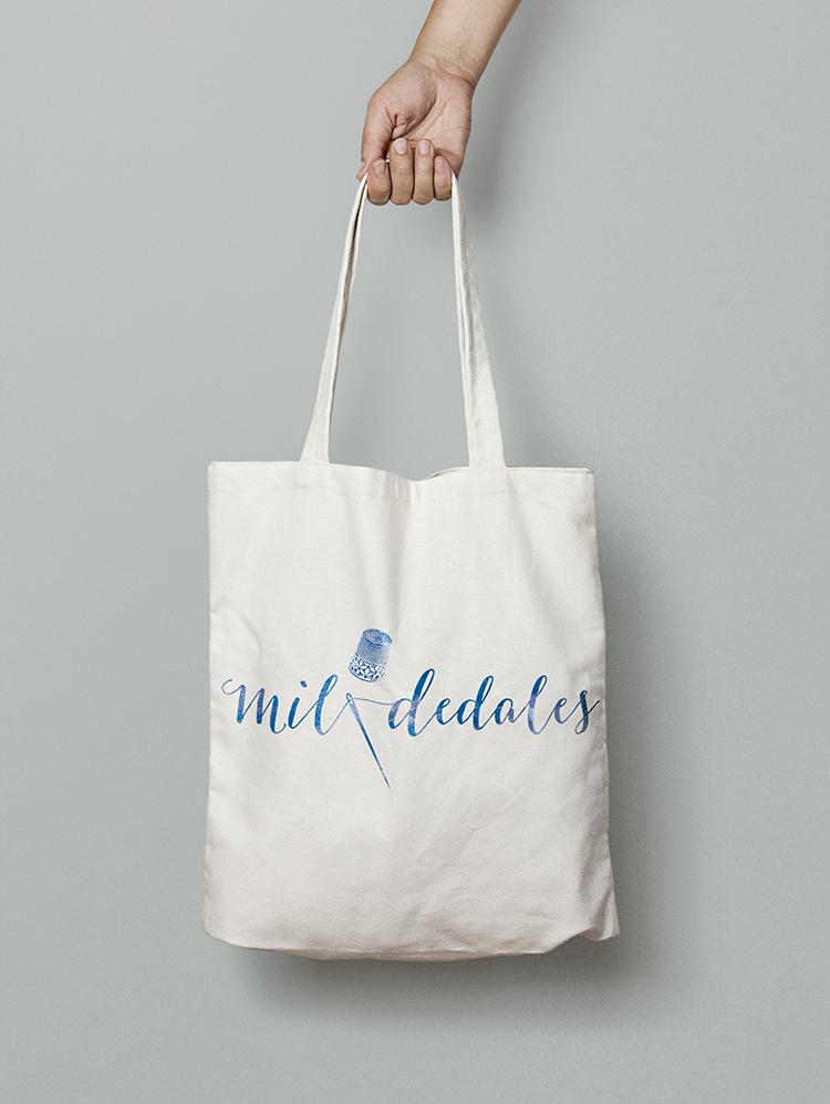 Mil dedales Tote Bag pequeño