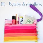 DIY: Estuche de cremalleras / Zipper pouch