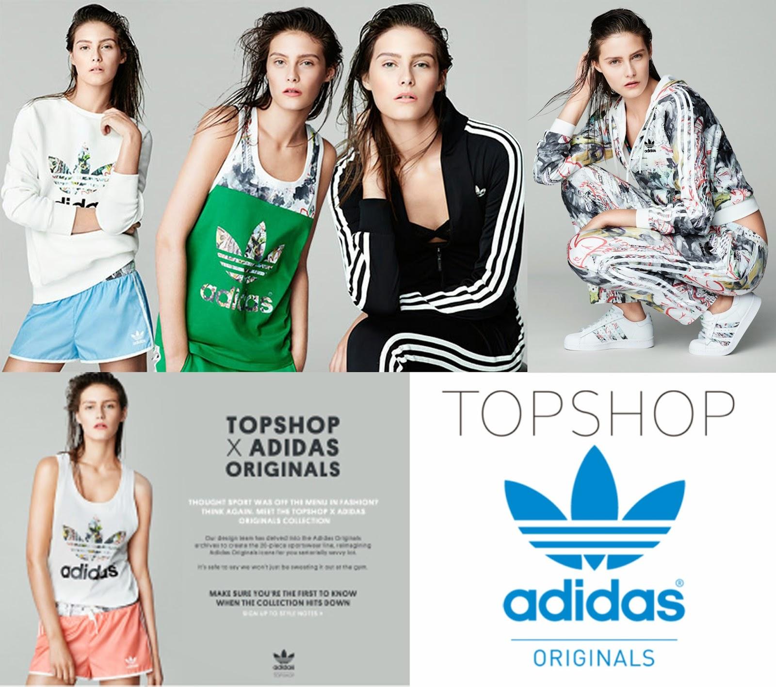 topshop adidas