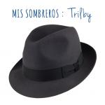 El sombrero Trilby / Trilby hat