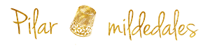 firma Pilar mildedales dorado