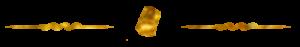 separador idiomas post dorado