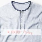 Camiseta panadera / Henley tee