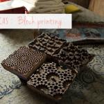Estampación con sellos / Block printing