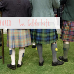 La falda kilt / Kilt skirt