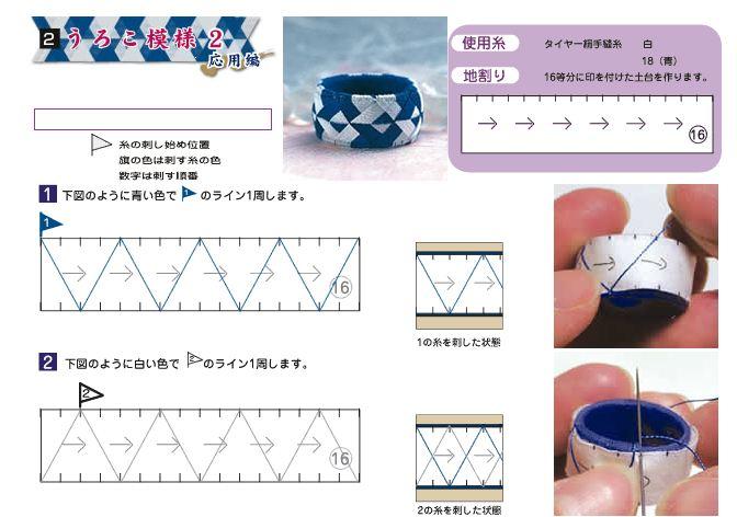 Yubinukis dedales japoneses tutorial5