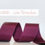 ¿Qué es la cinta Petersham? / What is the Pettersham ribbon?
