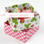 Caja de origami / Origami box